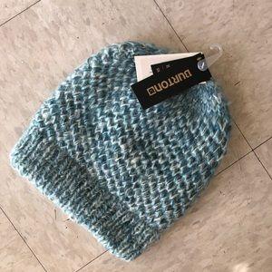 Knitted Burton beanie